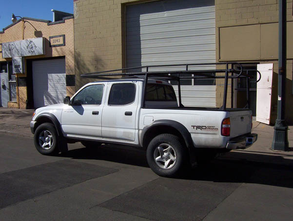 Toyota Tacoma Used Denver ColminnX Truck Ladder Rack, Toyota Tacoma - Suburban Toppers