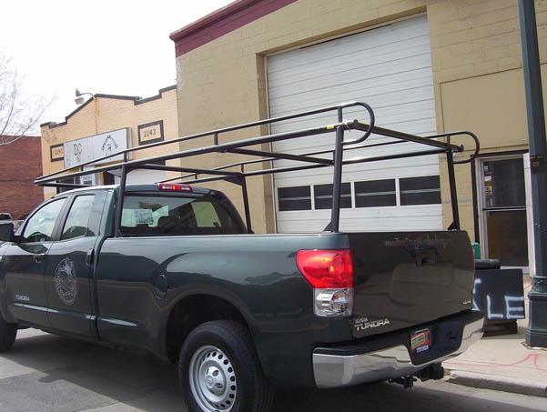159 Colminnx Truck Ladder Rack Tundra Suburban Toppers