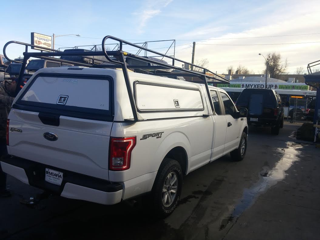 Ford F 150 Toolmaster Topper W Rack Suburban Toppers