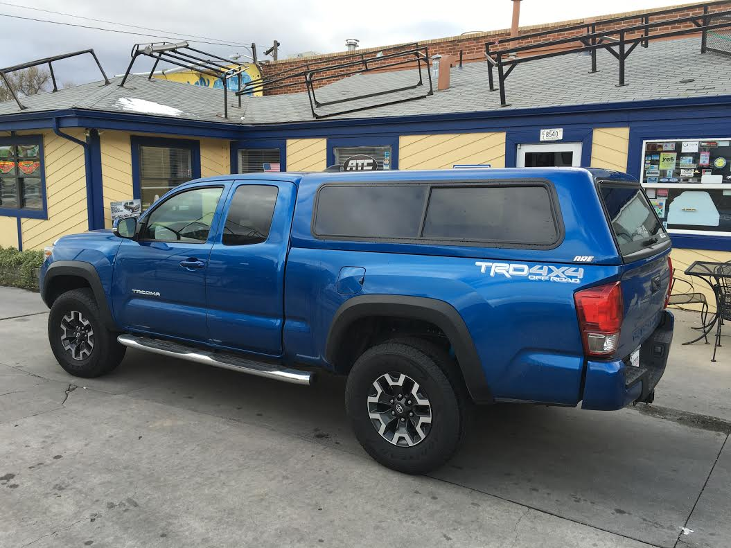 Used Tires Denver >> 2015 Toyota Tacoma Truck Cap | Autos Post