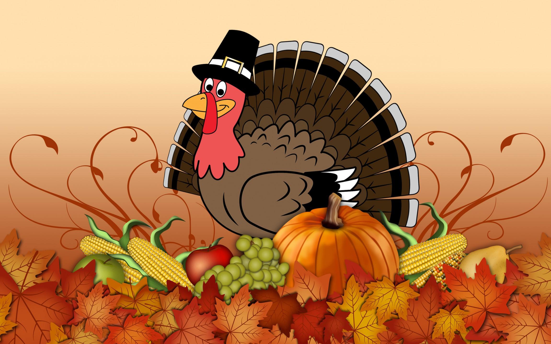 Happy thanksgiving turkey wallpaper happy thanksgiving turkey