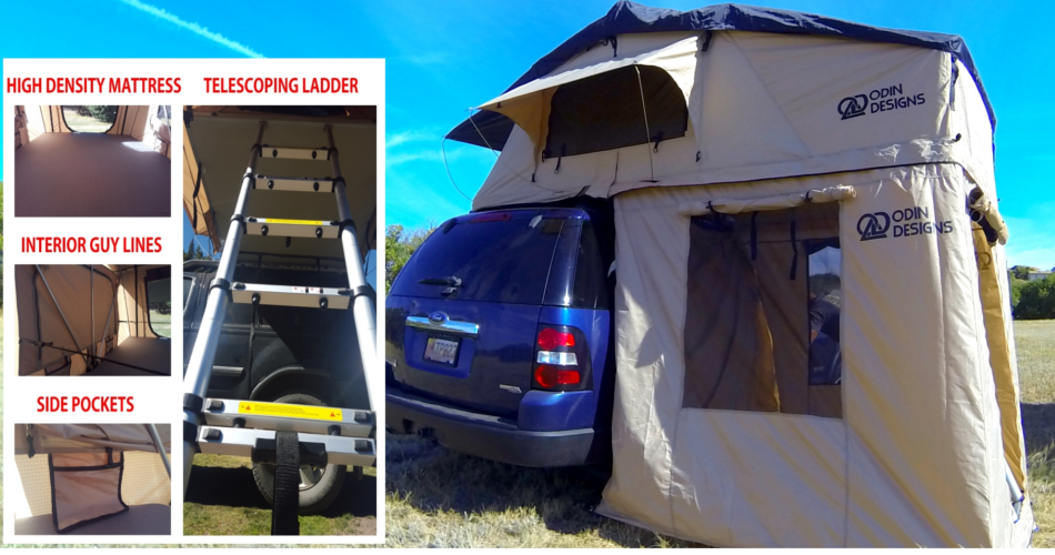 Odin Designs Series I Roof Top Tents Suburban Toppers