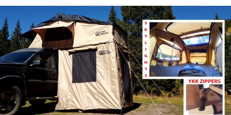 Odin Designs Series Ii Roof Top Tent Suburban Toppers