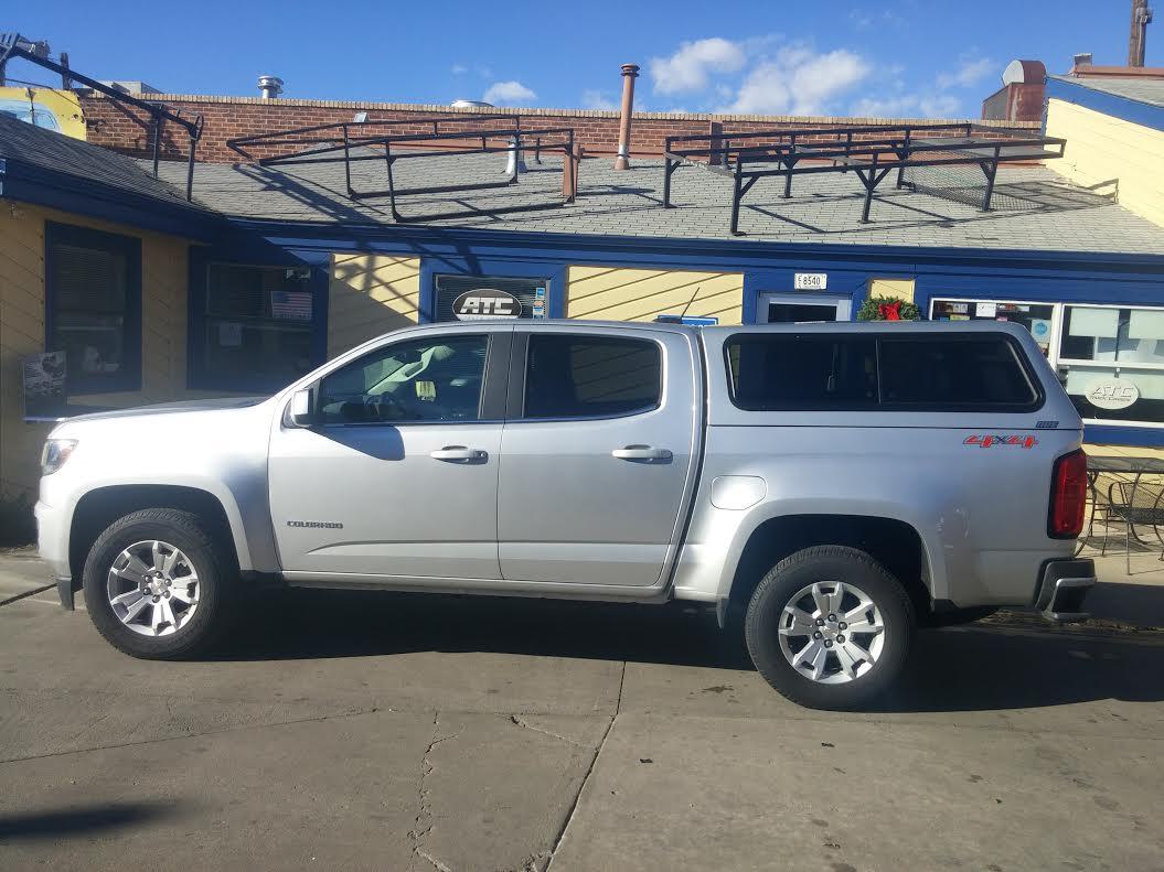 Chevy Colorado Springs >> Chevy Colorado V Series Profile Truck Topper Colorado