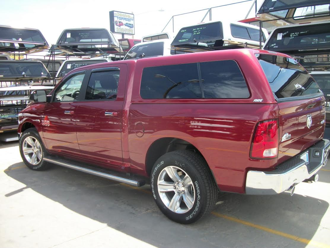 dodge are z series maroon truck topper suburban toppers. Black Bedroom Furniture Sets. Home Design Ideas