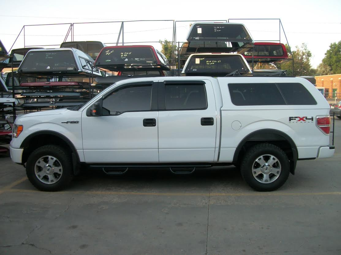 F 150 Z Series Profile White Truck Cap Colorado Springs