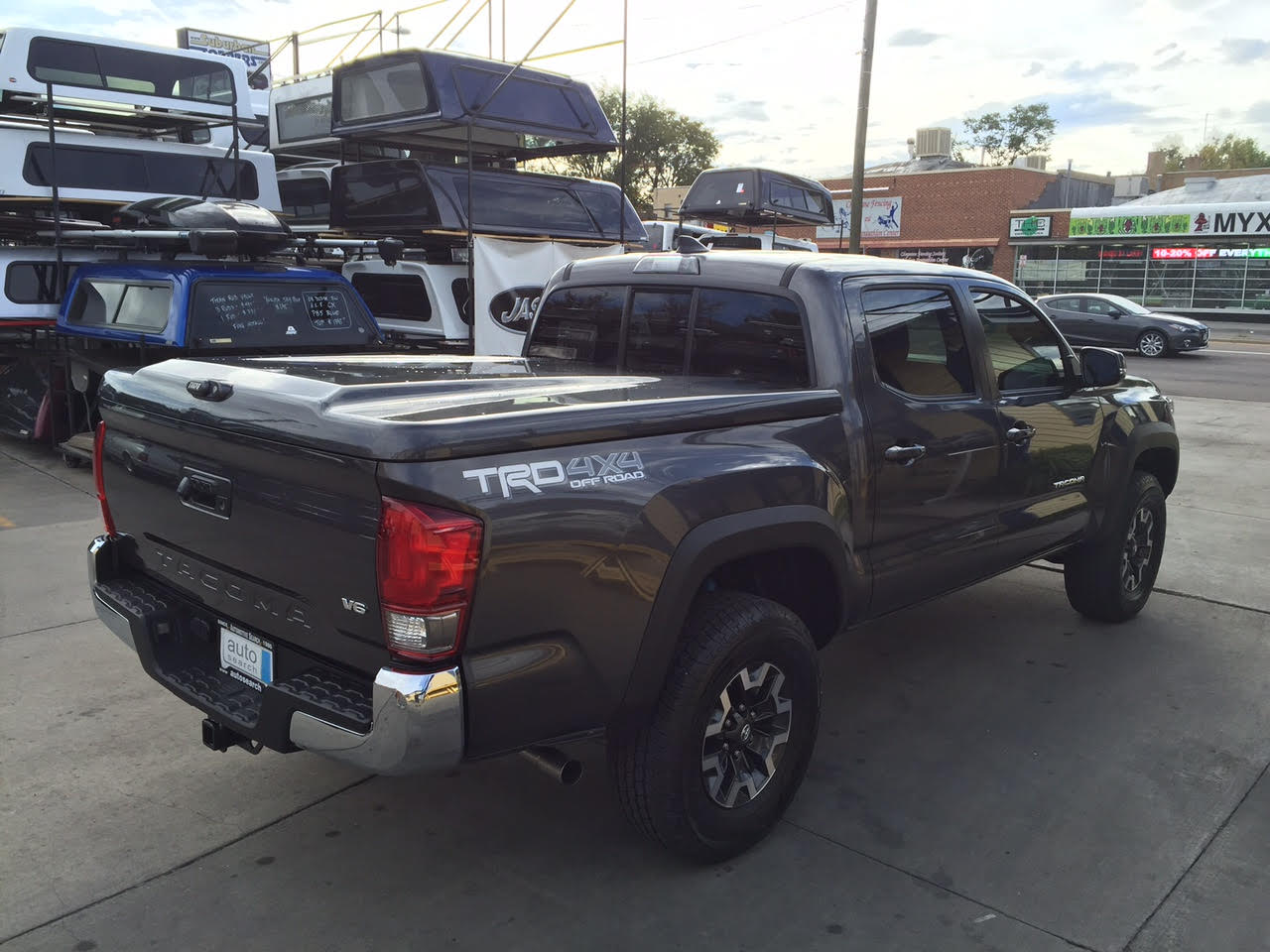 2016 Tacoma Are Lsii Suburban Toppers