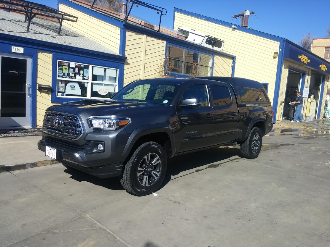 2016 Tacoma Are Mx Front View Suburban Toppers