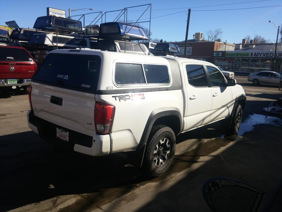 2016 Tacoma Are Overland Truck Topper Denver Suburban