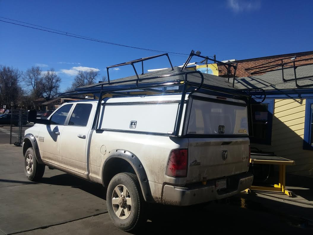Dodge Ram Dcu Commercial Topper W Rack Suburban Toppers