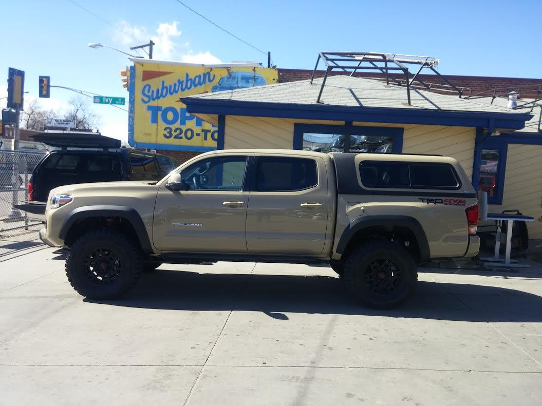 16 Tacoma 4v6 Overland Truck Topper Denver Suburban Toppers