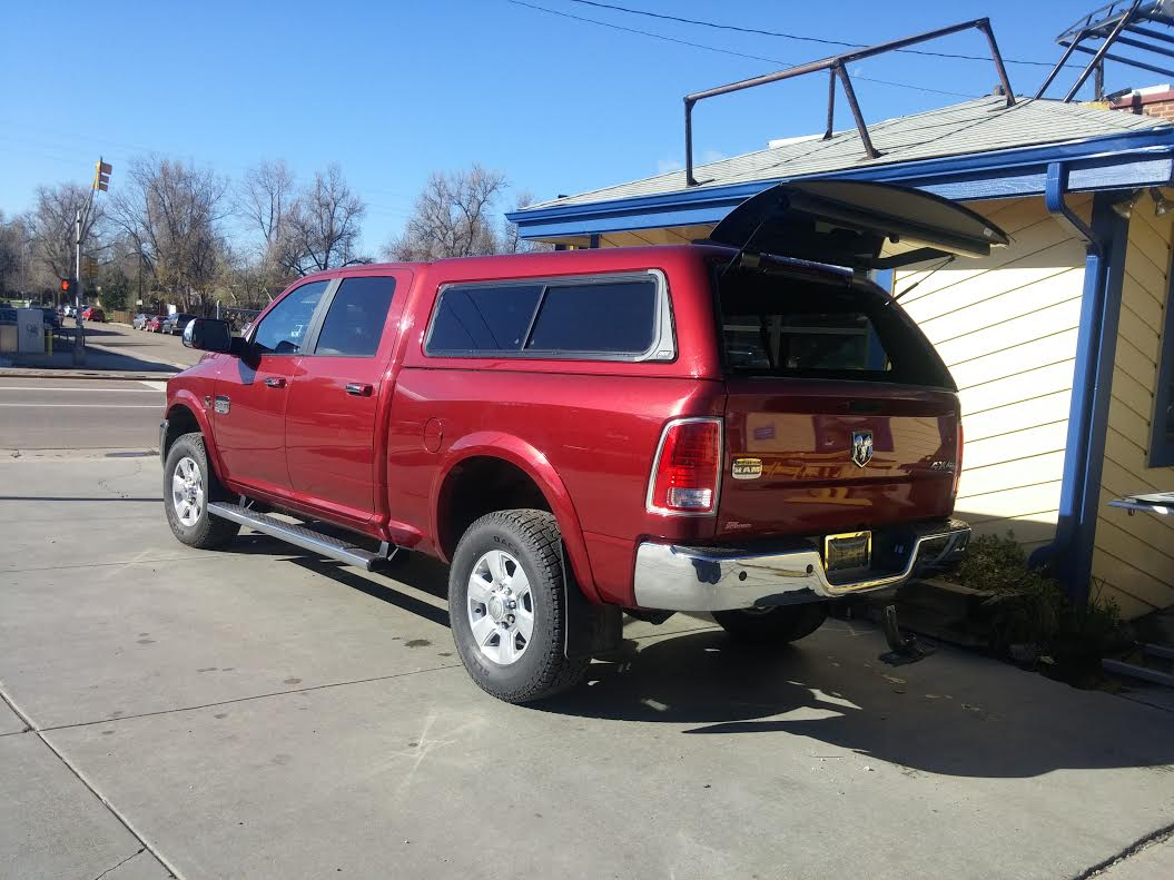 Dodge Colorado Springs >> 2014 Dodge Ram, ARE Z-Series Topper w/ Fascia Sliders PRP - Suburban Toppers
