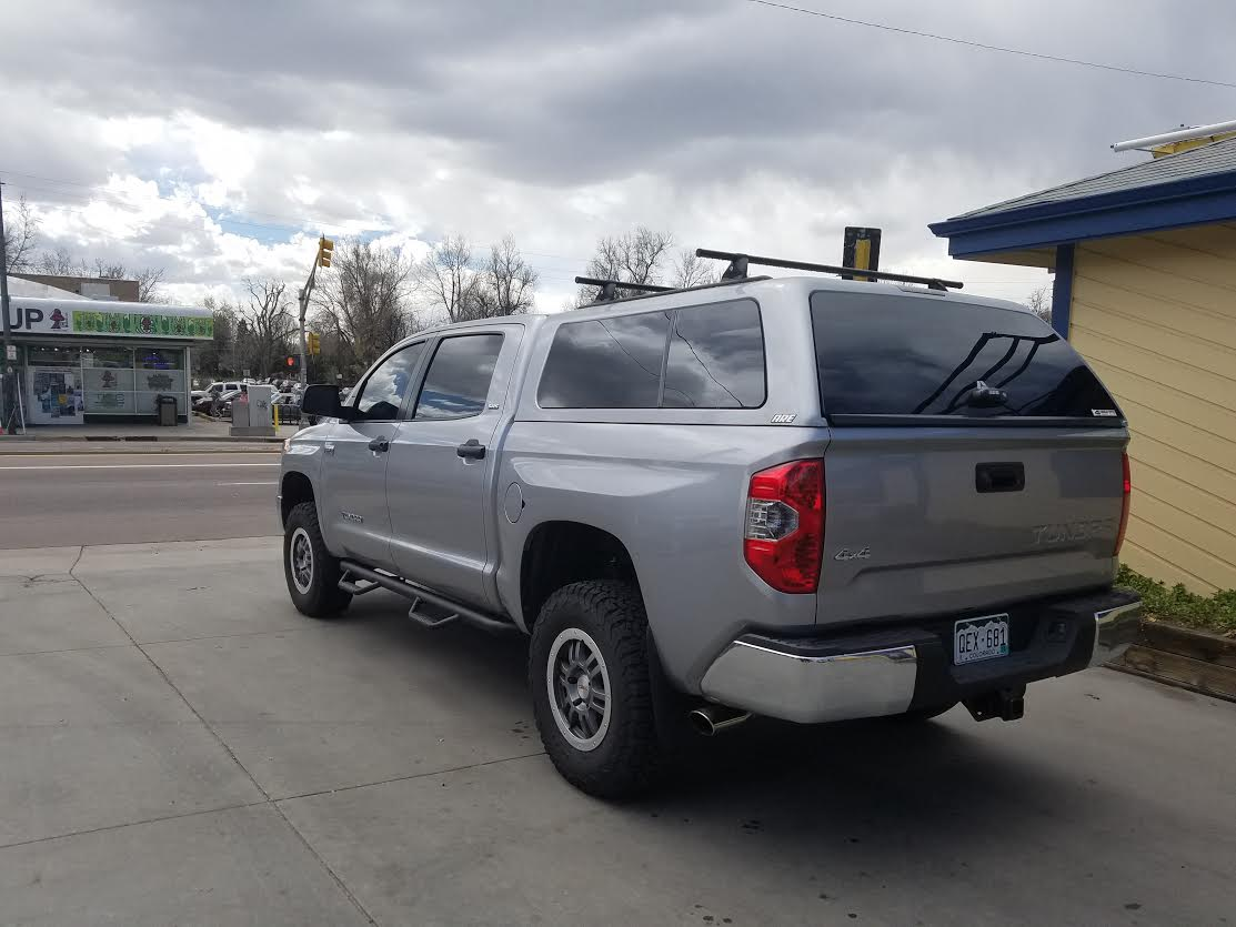 2016 Tundra Crew Are Z Series Yakima Rack Suburban Toppers