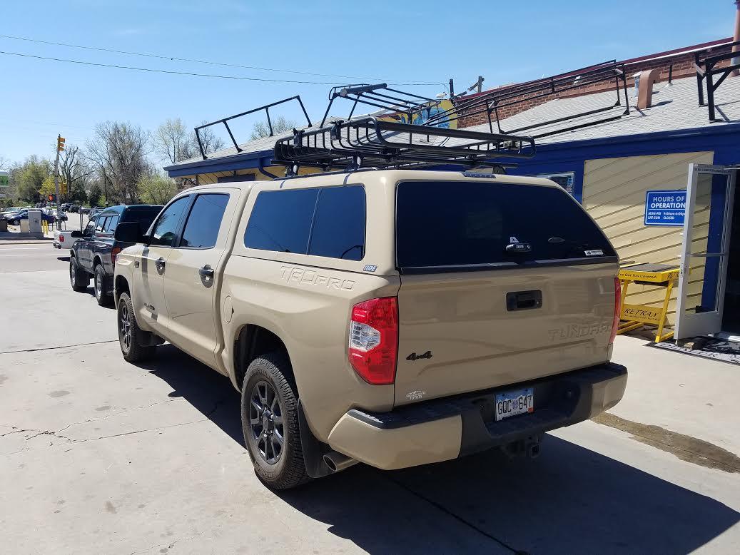 Colorado Springs Toyota >> 2016 Tundra 4V6, Z-Series, Yakima Basket - Suburban Toppers