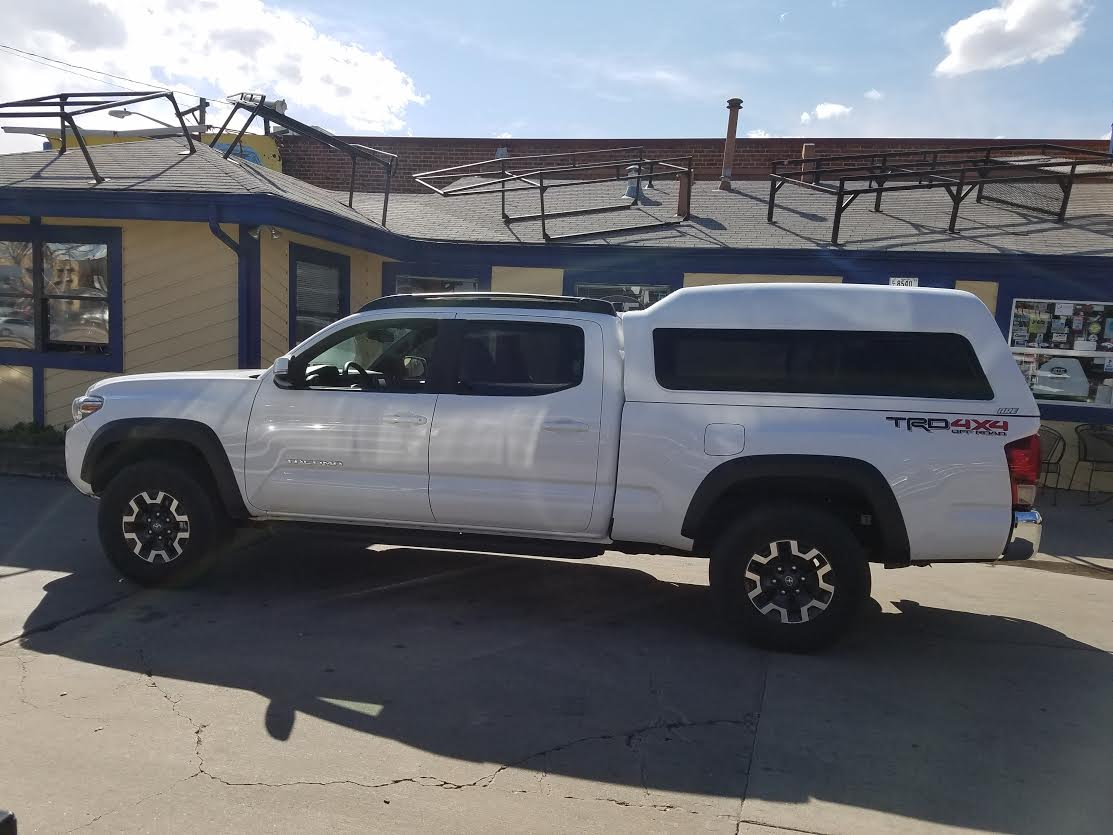 2016 Tacoma Are Mx Series Topper Profile Suburban Toppers