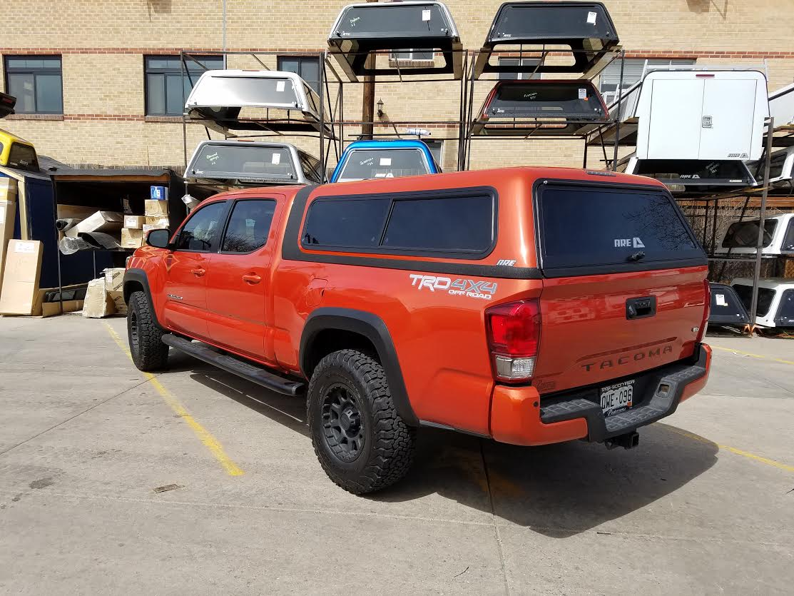 2016 Tacoma Overland 4x0 Red Suburban Toppers