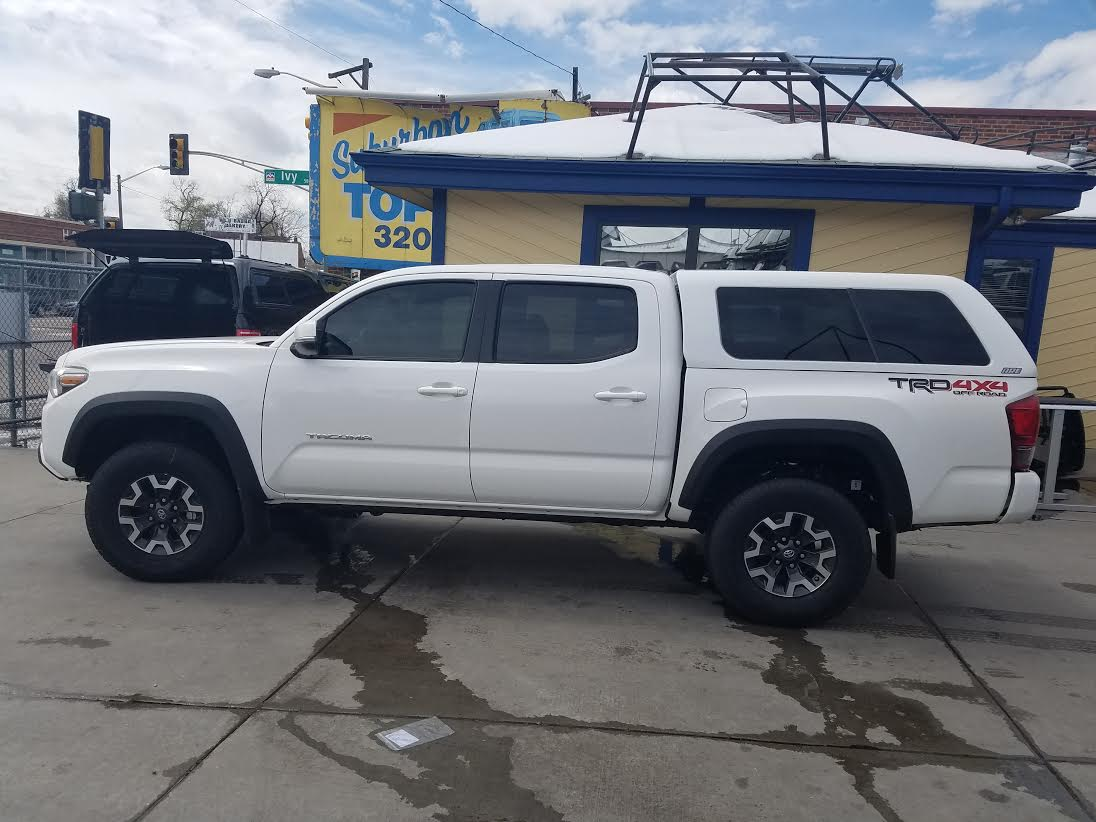 Toyota Fort Collins >> 2016 Tacoma 5' bed, ARE Z-Series, 040 White - Suburban Toppers