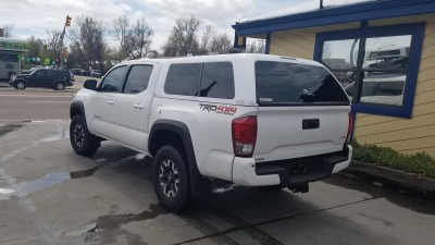2016 Tacoma 5 Bed Are Z Series 040 White