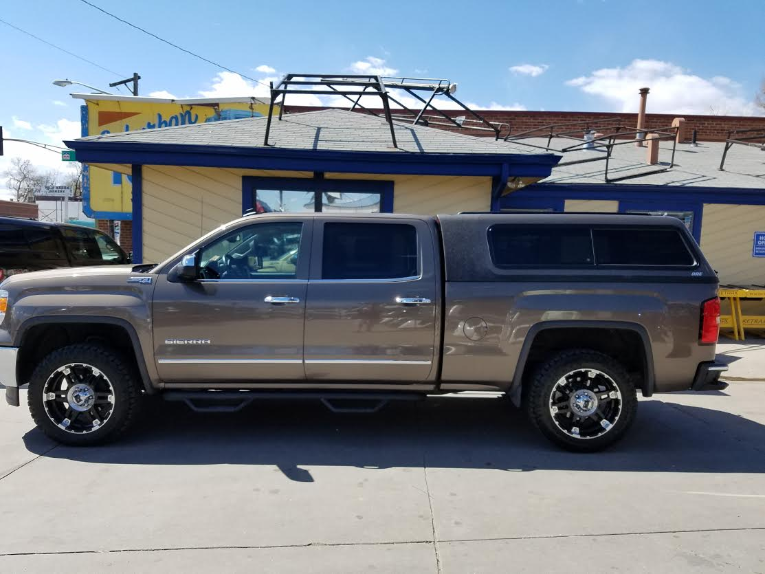 Gmc Sierra Are Overland Series Topper Suburban Toppers