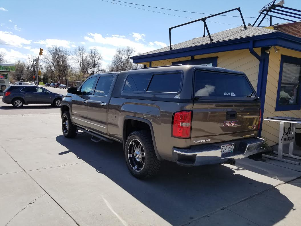 2015 Gmc Sierra Brownstone Are Overland Suburban Toppers