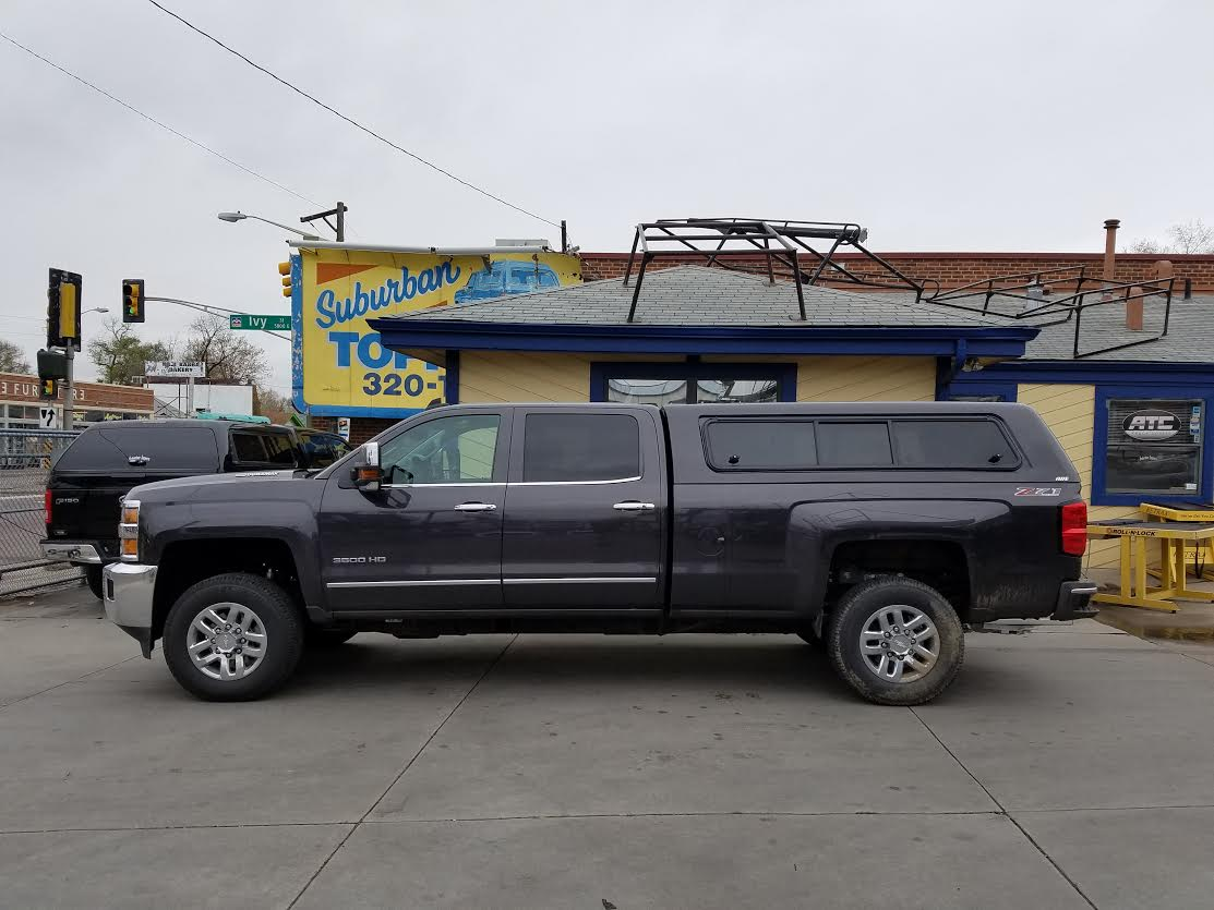 Colorado Springs Dodge >> 2016 Silverado 3500, ARE CX-Series, Vent Windoors - Suburban Toppers