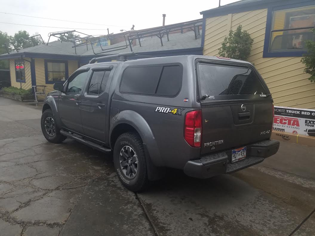2016 Nissan Frontier Atc Colorado Kad Gray Suburban