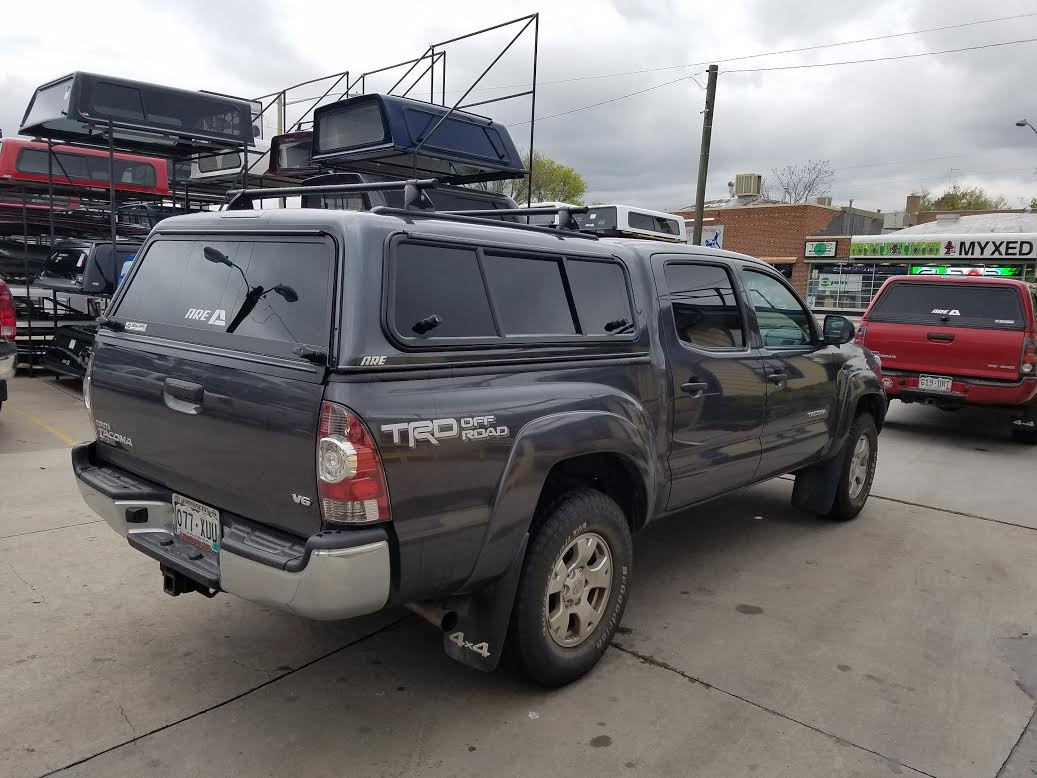 2016 Tacoma, ARE V-Series, Outdoorsman Windoor - Suburban Toppers