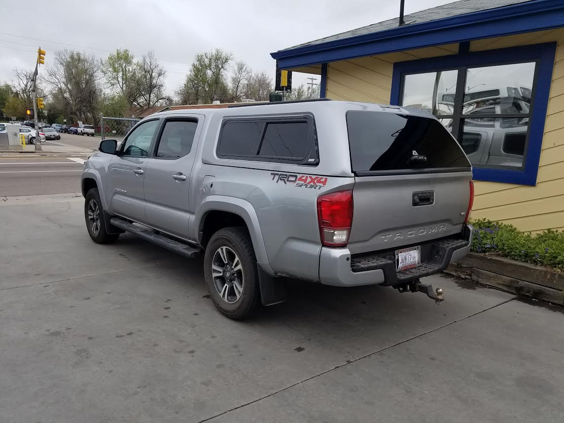 Colorado Springs Toyota >> 2016 Tacoma, Z-Series, Fascia Sliders - Suburban Toppers