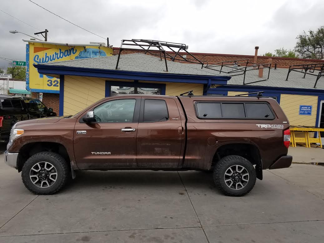 Colorado Springs Toyota >> 2016 Tundra, Sunset Bronze, ARE CX Series - Suburban Toppers