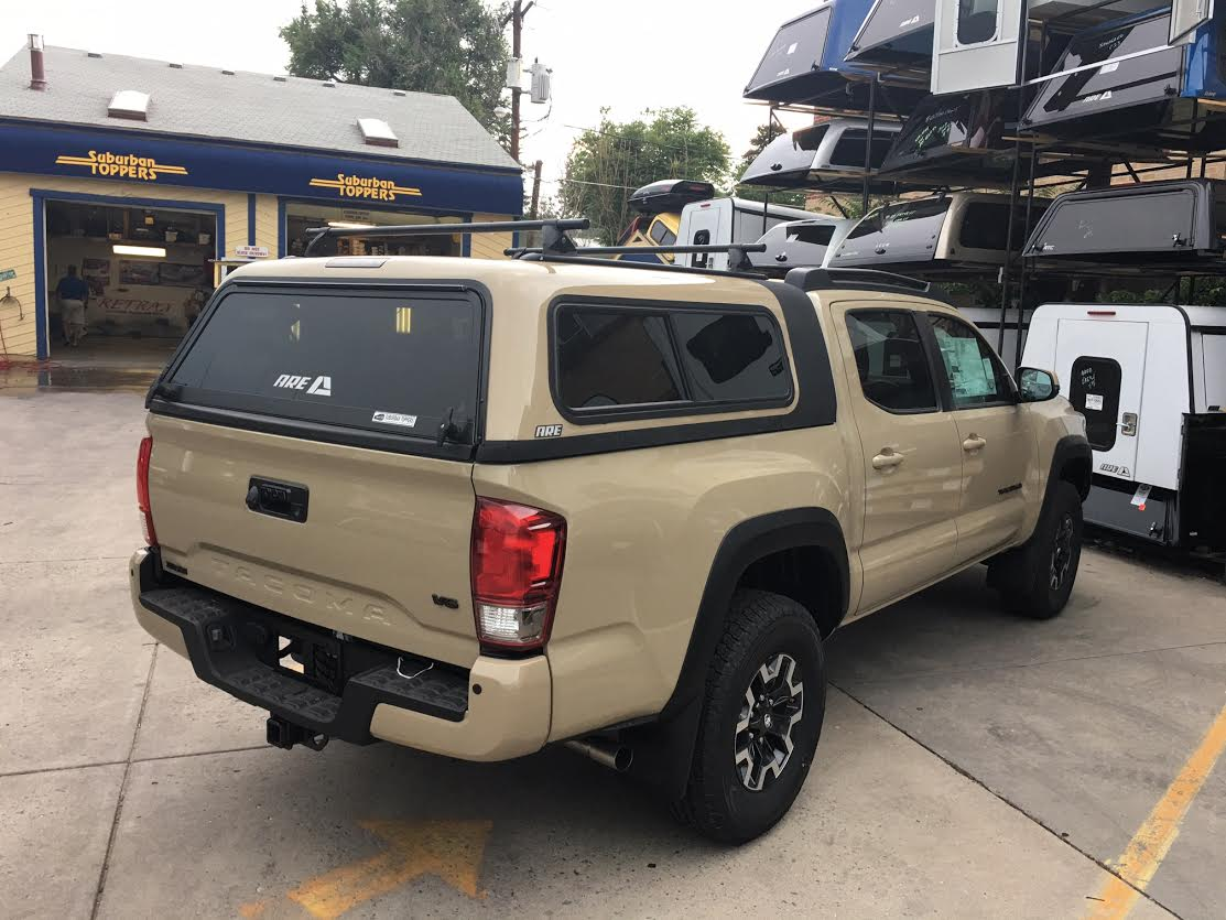 Colorado Springs Toyota >> 16 Tacoma, Overland, Topper EZ-Lift - Suburban Toppers