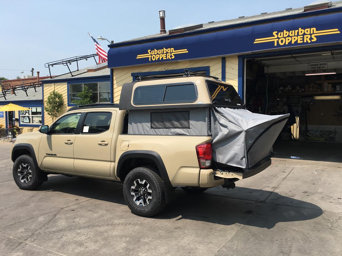 Toyota Rav4 Seattle 16 Tacoma, Overland, Topper EZ-Lift - Suburban Toppers