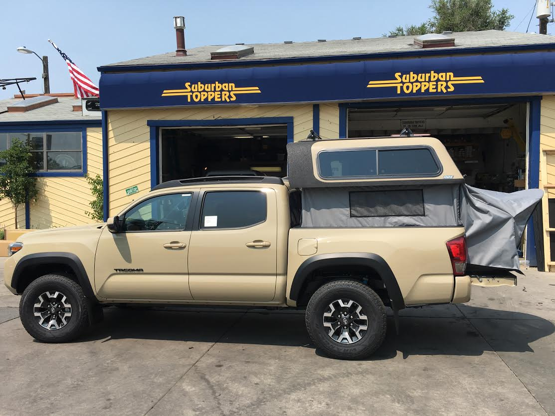 16 Tacoma Overland Topper Ez Lift Suburban Toppers