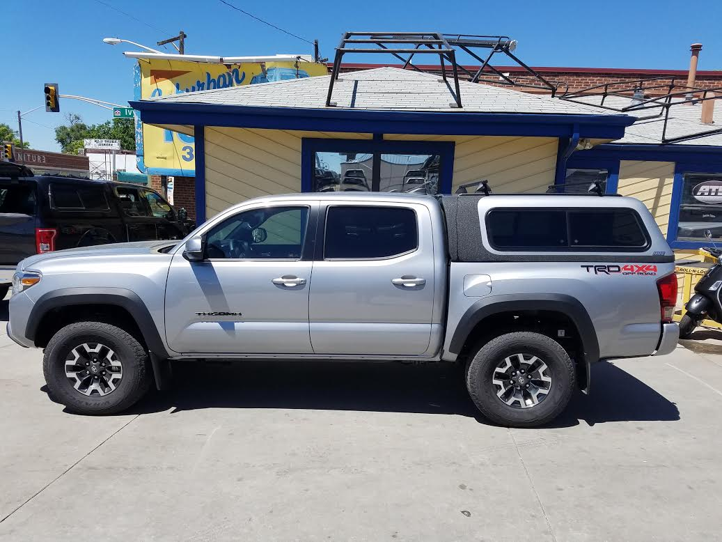 2016 Toyota Tacoma Are Overland Series Suburban Toppers