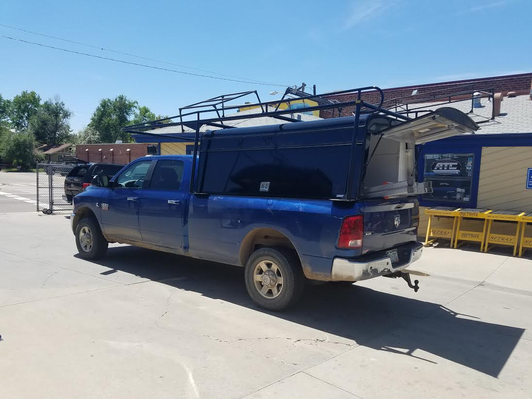 2011 Ram 2500 Lb Are 36 Quot Dcu Colminnx Rack Suburban