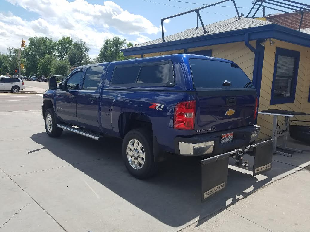 2013 Chevy 2500, ARE Z-Series, Fascia Sliders - Suburban Toppers