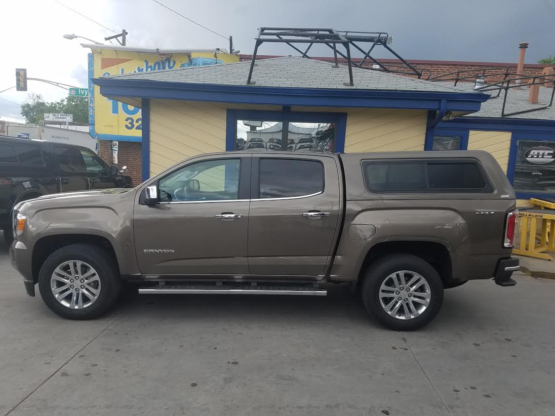 2016 Gmc Canyon Are Cx Series Suburban Toppers