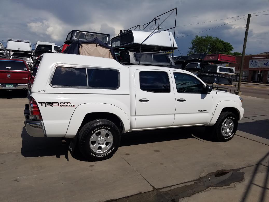 Toyota Tacoma Are Mx Series Topper Suburban Toppers