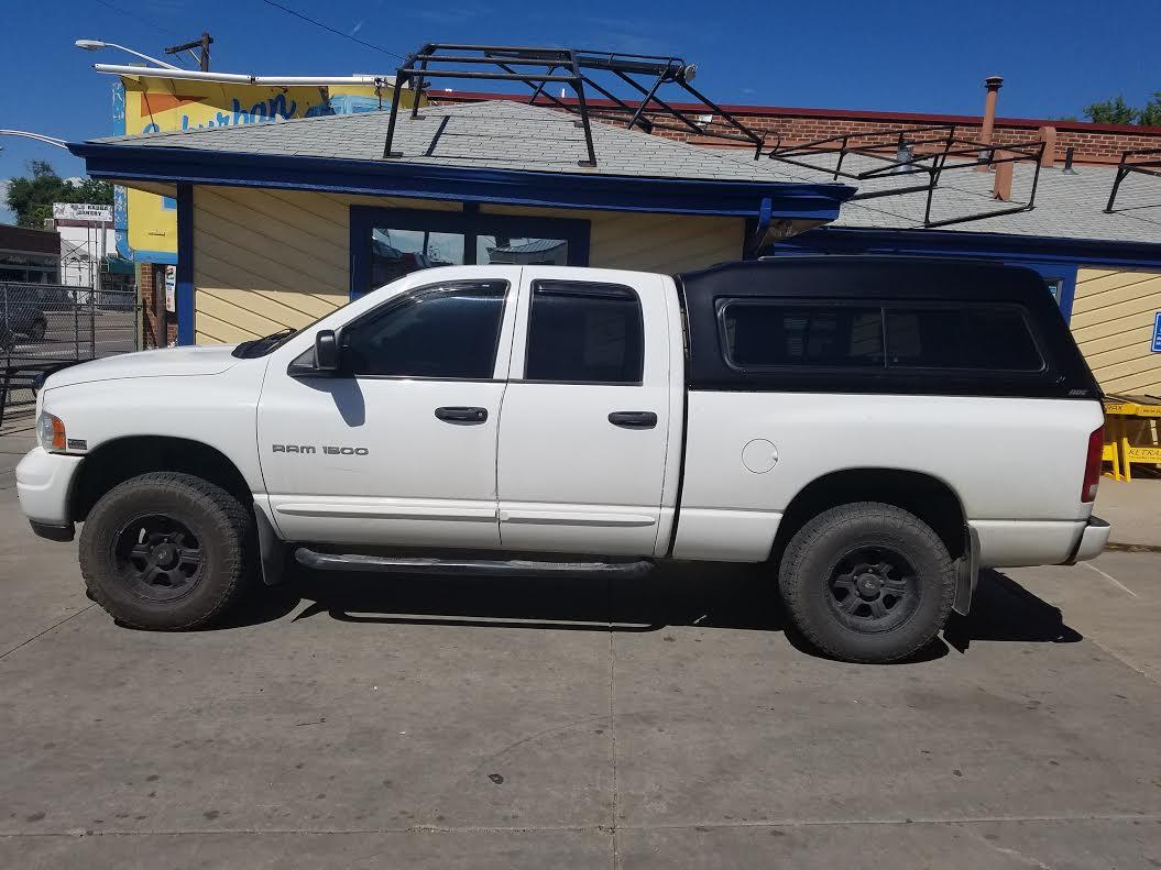 Colorado Springs Dodge >> 2004 Ram, ARE MX-Series, Matte Black - Suburban Toppers