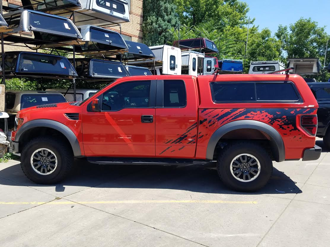 Chevy Colorado Springs >> 2010 Ford Raptor, Molten Orange, ARE CX-HD - Suburban Toppers