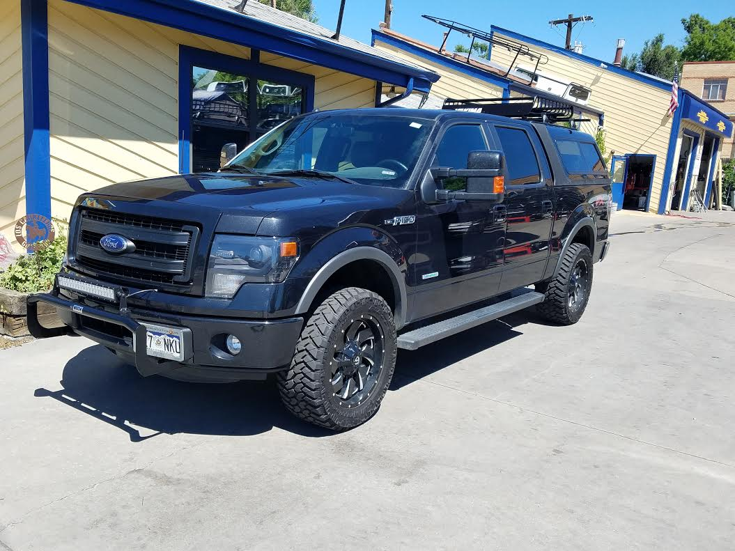 Gmc Colorado Springs >> 2014 F150, ARE Overland, Yakima Basket, Light Bar - Suburban Toppers