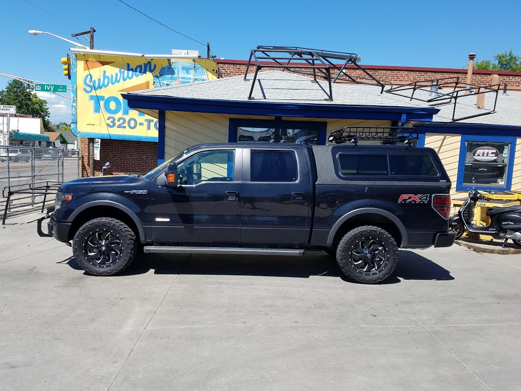 Colorado Springs Dodge >> 2014 F150, ARE Overland, Yakima Basket, Light Bar - Suburban Toppers