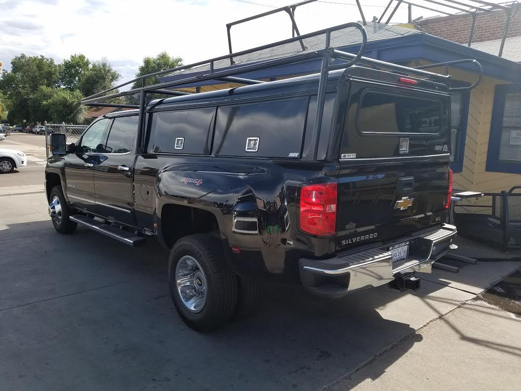 2016 Chevy Silverado Dually, ARE DCU, Colminn-X Rack ...