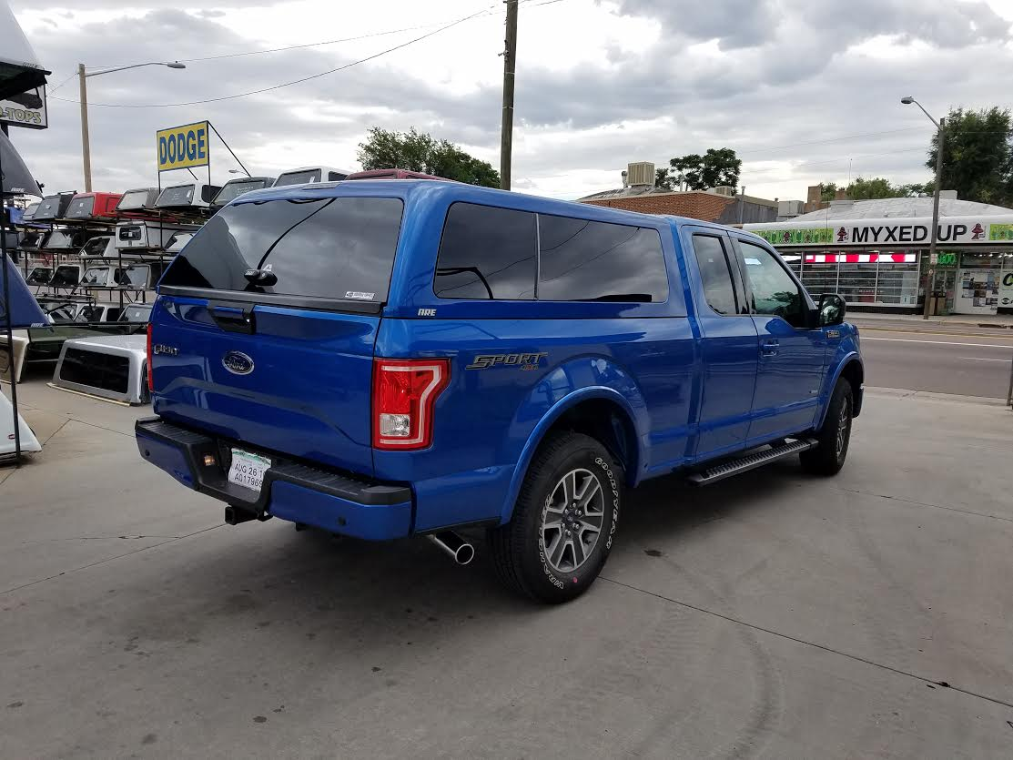 2016 F150 Are Z Series Sz Blue Suburban Toppers