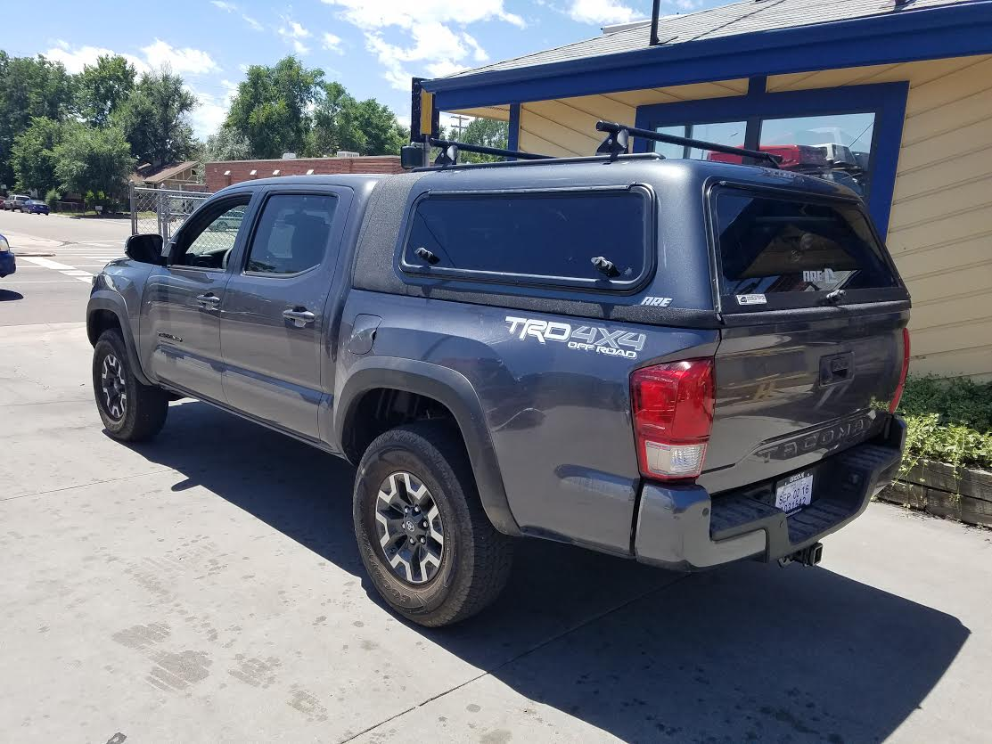 Ford F150 Bed Covers 2016 Tacoma, ARE Overland, Windoors - Suburban Toppers