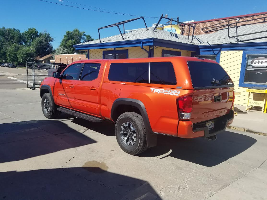 2016 Tacoma Inferno Are Z Series Suburban Toppers