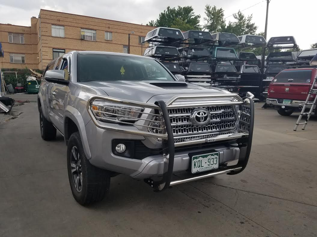 2016 Tacoma Westin Sportsman Grille Guard Suburban Toppers