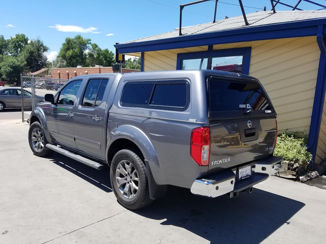 2016 Frontier, ARE CX-Series, KAD Gray - Suburban Toppers