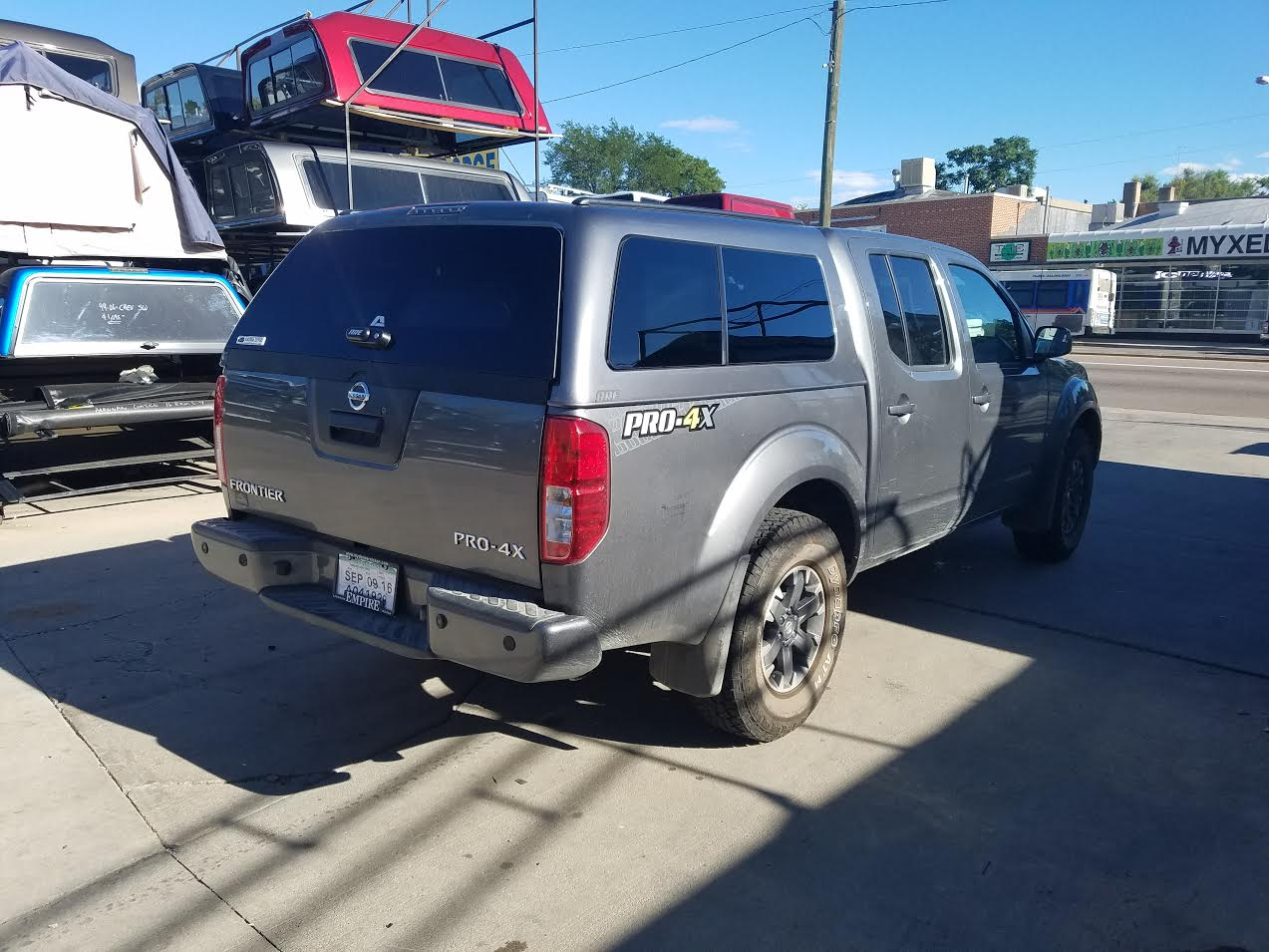 Colorado Springs Dodge >> 2016 Nissan Frontier, ARE Z-Series, KAD - Suburban Toppers