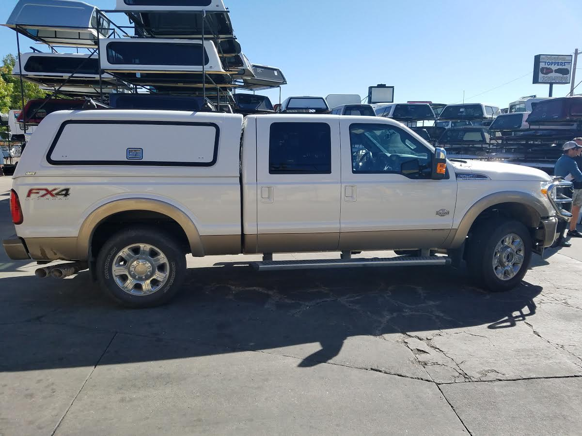 Used F 250 Super Duty >> 2013 F-250, ARE CX-Series, Alum Panel Windoors - Suburban Toppers