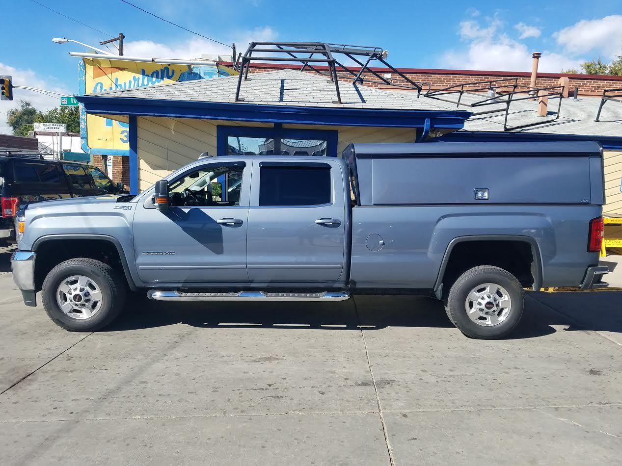 "Colorado Springs Dodge >> 2016 GMC Sierra, ARE 26"" DCU, 402 Blue - Suburban Toppers"